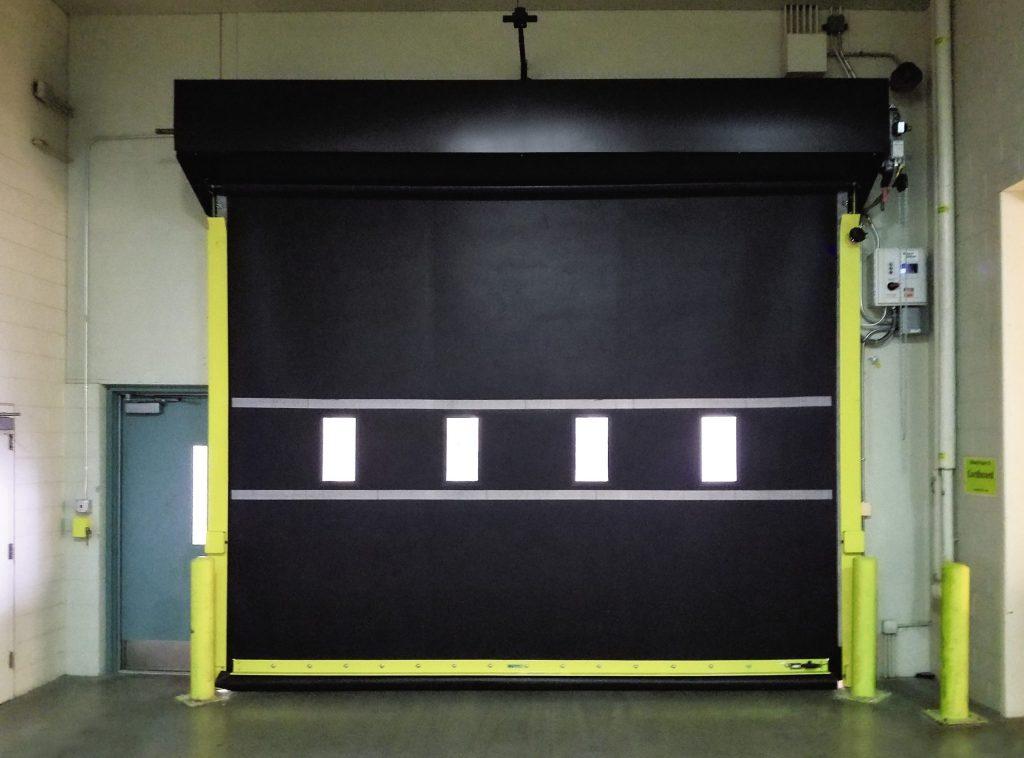Model 885 Industrial garage door