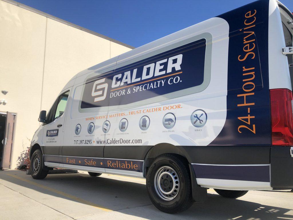 Calder Doors Service Truck